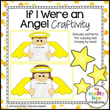 If I Were An Angel Craftivity