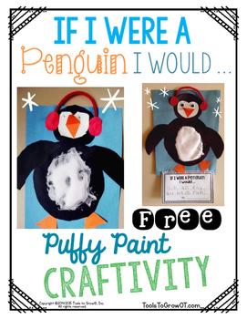 If I were a Penguin I Would .... Craftivity