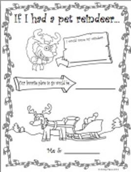 If I had a pet reindeer