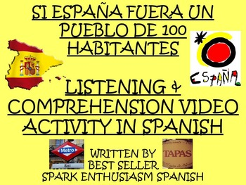 If Spain Were a Town of Only 100 People Video Activity in Spanish