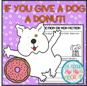 Crafts and Activities To Accompany If You Give A Dog A Donut!