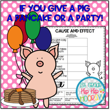 Craft and Activities to Accompany If You Give A Pig A Pancake!