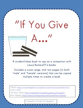 """If You Give A..."" Student/Class Book"