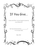 """If You Give..."" Cause and Effect Stories"