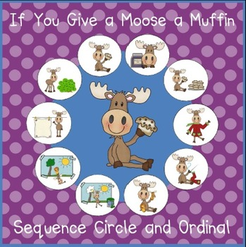 If You Give a Moose a Muffin - Sequencing Activities