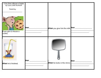 If You Give a Mouse a Cookie Retelling Activity