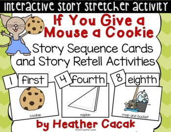 If You Give a Mouse a Cookie Story Sequence Retelling Card