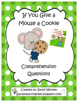 If You Give a Mouse a Cookie by Laura Numeroff Reading Com