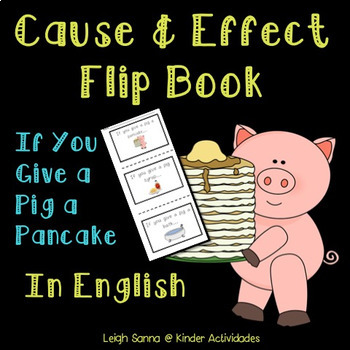 If You Give a Pig a Pancake Cause and Effect Mini Book
