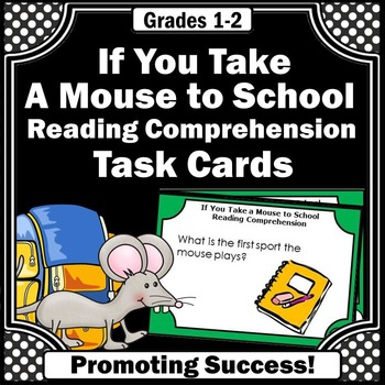 If You Take a Mouse to School Book for Back to School Game