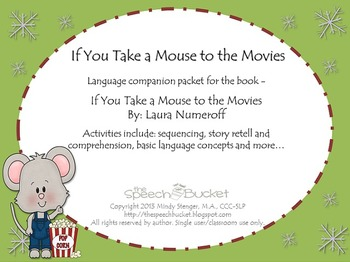 If You Take a Mouse to the Movies - Speech and Language Pa