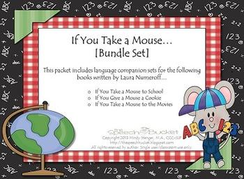 If You Take a Mouse...[[BUNDLE SET]] Book Companions