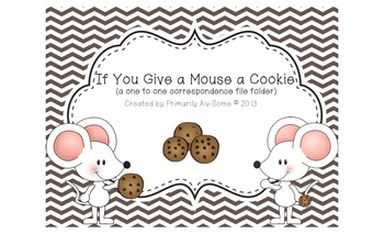 If you Give a Mouse a Cookie He will Count all the Chips!