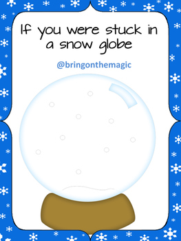 If you were stuck in a snow globe