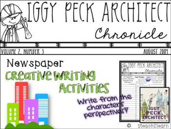 Iggy Peck, Architect - Creative Writing Activities - Growt