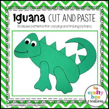 Iguana Cut and Paste