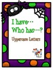 """Halloween """"I have...Who has...? Letter Recognition"""