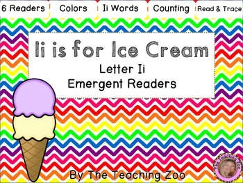 Ii Letter of the Week Readers - I i is for Ice Cream
