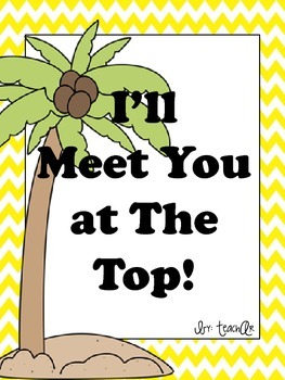 I'll Meet You at the Top! A Chicka Chicka Boom Boom Extension!