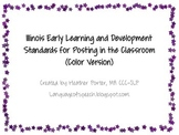 Illinois Early Learning & Development Standards for Classr