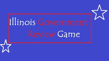 Illinois Government Review Game
