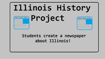 Illinois History Newspaper Project