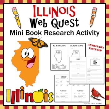 Illinois Webquest Common Core Research Mini Book