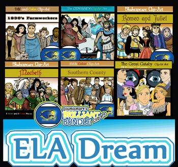 Illumismart's BRILLIANT ELA Dream BUNDLE! 122 pieces!