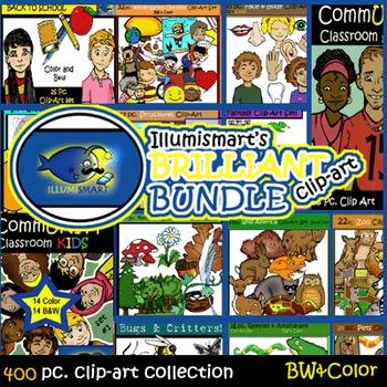 Illumismart's BRILLIANT Bundle: 400 pc. Clip-Art...AMAZING