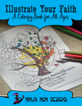Illustrate Your Faith- A Coloring Book for All Ages- No Prep