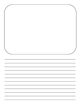 Illustrate and Write Template