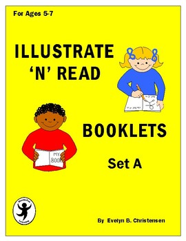 Illustrate 'n' Read Booklets Set A