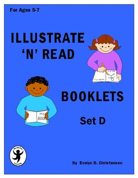 Illustrate 'n' Read Booklets Set D