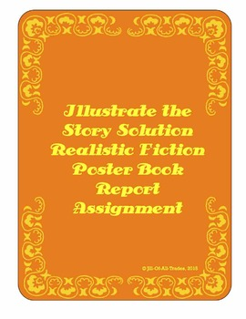 Illustrate the Story Solution Book Report: Realistic Ficti