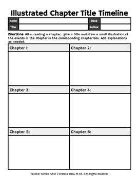 Illustrated Chapter Title Timelines
