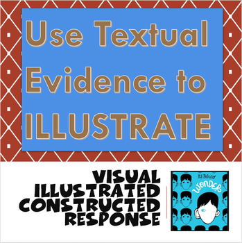 Illustrated - VISUAL - Constructed Response (using Wonder