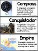 Illustrated Vocabulary Cards for American History: Europea