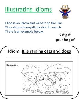 Illustrating Idioms