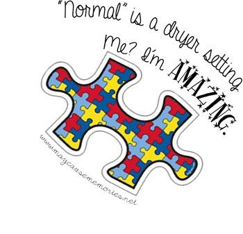 """I'm Amazing"" Disability Awareness/Acceptance Printable Po"