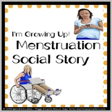 Social Story Menstruation Life Skills SPED/Autism Updated!