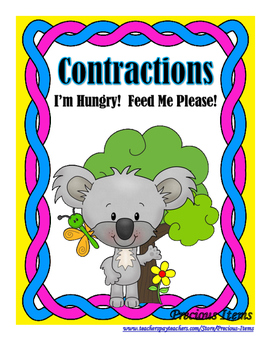 I'm Hungry!  Feed Me Please!  Koalas - Contractions