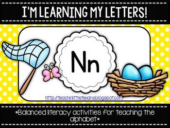 I'm Learning My Letters! {Bundle N-Z}