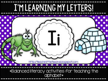 I'm Learning My Letters! {Unit I}