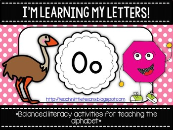 I'm Learning My Letters! {Unit O}