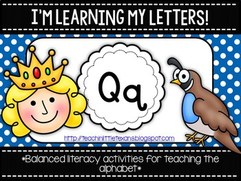 I'm Learning My Letters! {Unit Q}