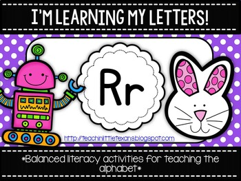 I'm Learning My Letters! {Unit R}
