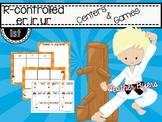 R-Controlled -er, -ir, -ur Centers & Games