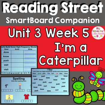 I'm a Caterpillar SmartBoard Companion 1st First Grade