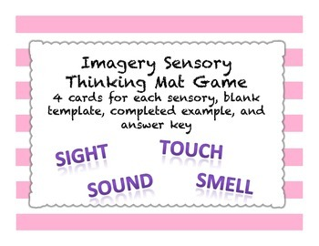 Imagery Sensory Thinking Mat Game