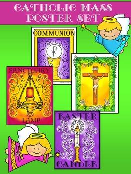 Images of the Catholic Mass Poster Set